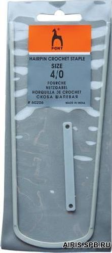 60206 Скоба шалевая 4/0, PONY