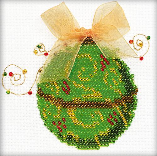 1223 Набор для вышивания Riolis 'Яркий шарик', 10*10 см