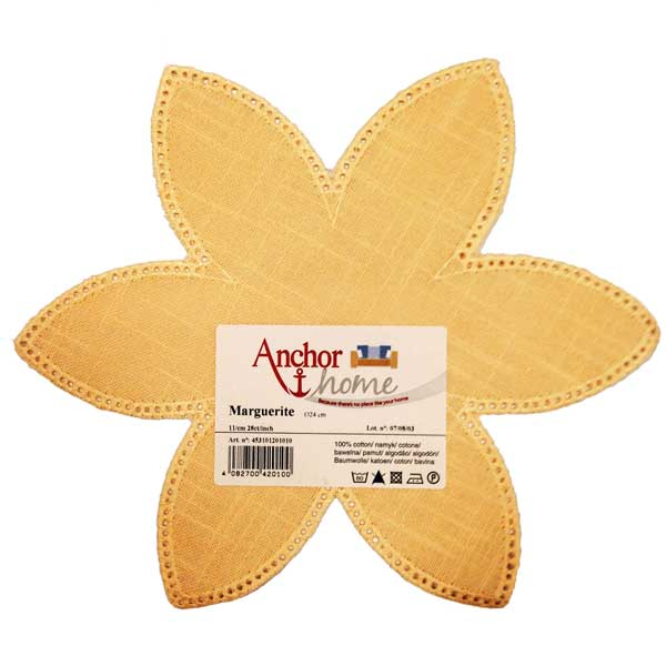 4531-012-01010 ANCHOR Салфетка для обвязывания диам. 24 см, 100% хлопок