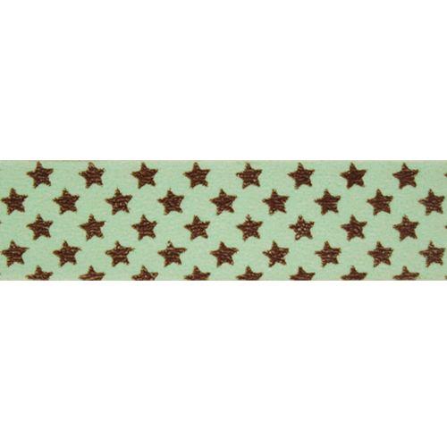 SCB4905003 Бумажный скотч с принтом 'Звезды', EveryDay, 15 мм*8 м, ScrapBerry's