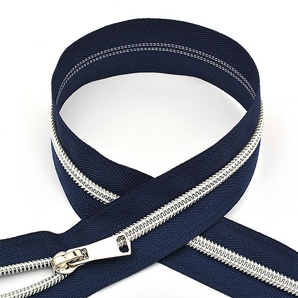 Молния MaxZipper спираль №5 декор. 75см цв.F330 синий, ДЕКN575F330