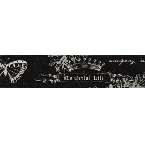 SCB4905009 Бумажный скотч с принтом 'Элегия', Fairy Tale, 15 мм*8 м, ScrapBerry's