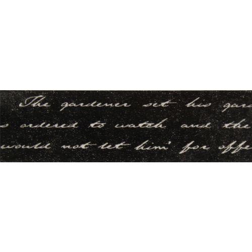 SCB4905008 Бумажный скотч с принтом 'Элегия. Сочинения', Fairy Tale, 15 мм*8 м, ScrapBerry's