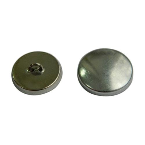 Пуговица под обтяжку №32 (20мм) металл/металл