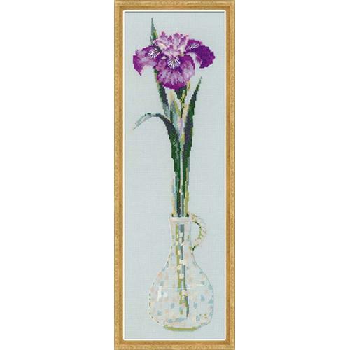 1374 Набор для вышивания Riolis 'Король цветов', 15*50 см