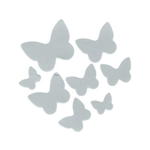 Набор светоотражающих наклеек на одежду 'Бабочки'