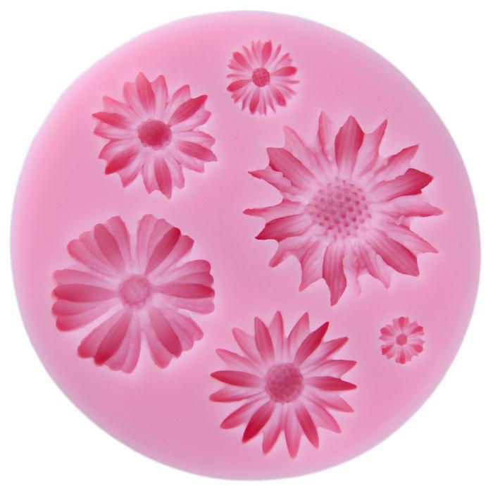 164541 Молд 8*1 см 'Цветы'