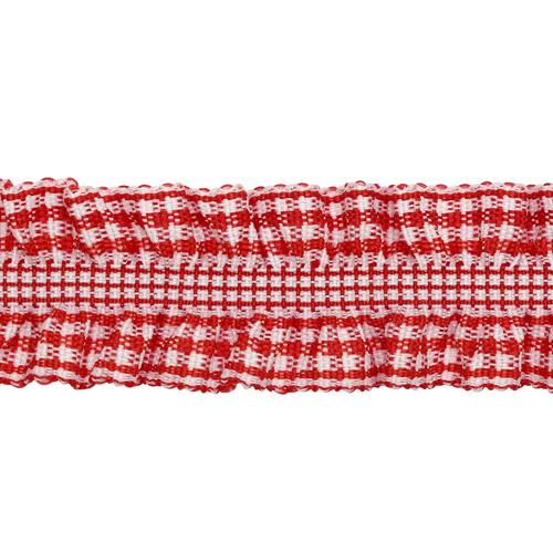 1AS-219 Тесьма-рюш эластичная двухсторонняя 20мм*22,86м