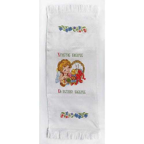1082 Набор для вышивания Alisena 'Рушничок пасхальный', 35*90 см