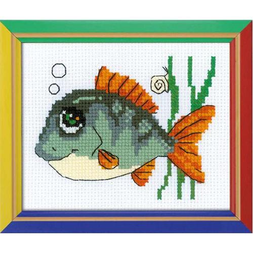 НВ-139 Набор для вышивания Riolis 'Рыбка с улыбкой', 16*13 см