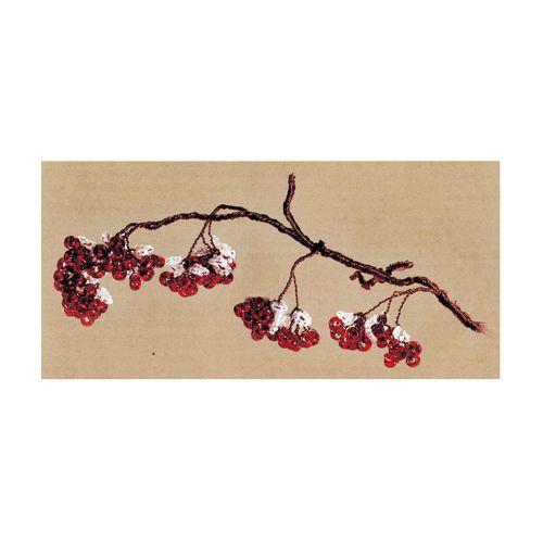 БП-139 Набор для бисероплетения 'Чарiвна Мить' 'Зимняя ягода', 7*21 см