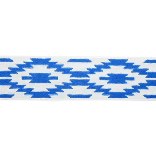1AS-227 Лента эластичная декоративная 'Ромбы' 5 см*5м