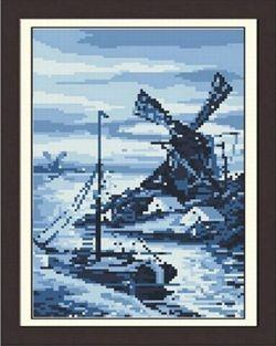 7026 Мозаика Cristal 'В сумерках', 23*35 см