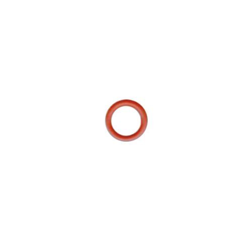 0806/09 Кнопка сороч. б/г алая мет (A)