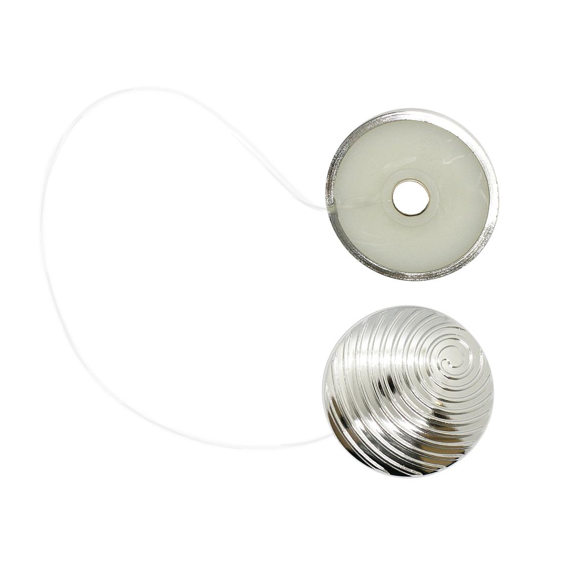 Магнитные клипсы «Спираль» с леской (30см) d 35