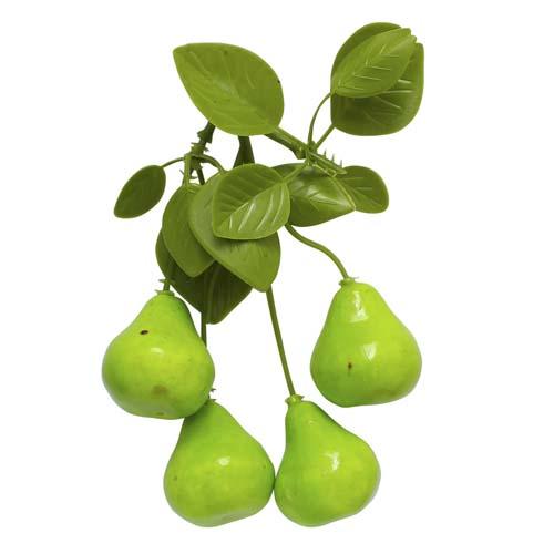 XL168 Декоративный букетик 'Груши зеленые', 13*8см Астра