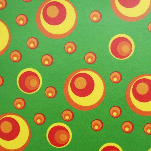 85005 Транспарентная бумага 'Круги', 115 г/м?, 50,5*70 см, упак./10 листов, Folia