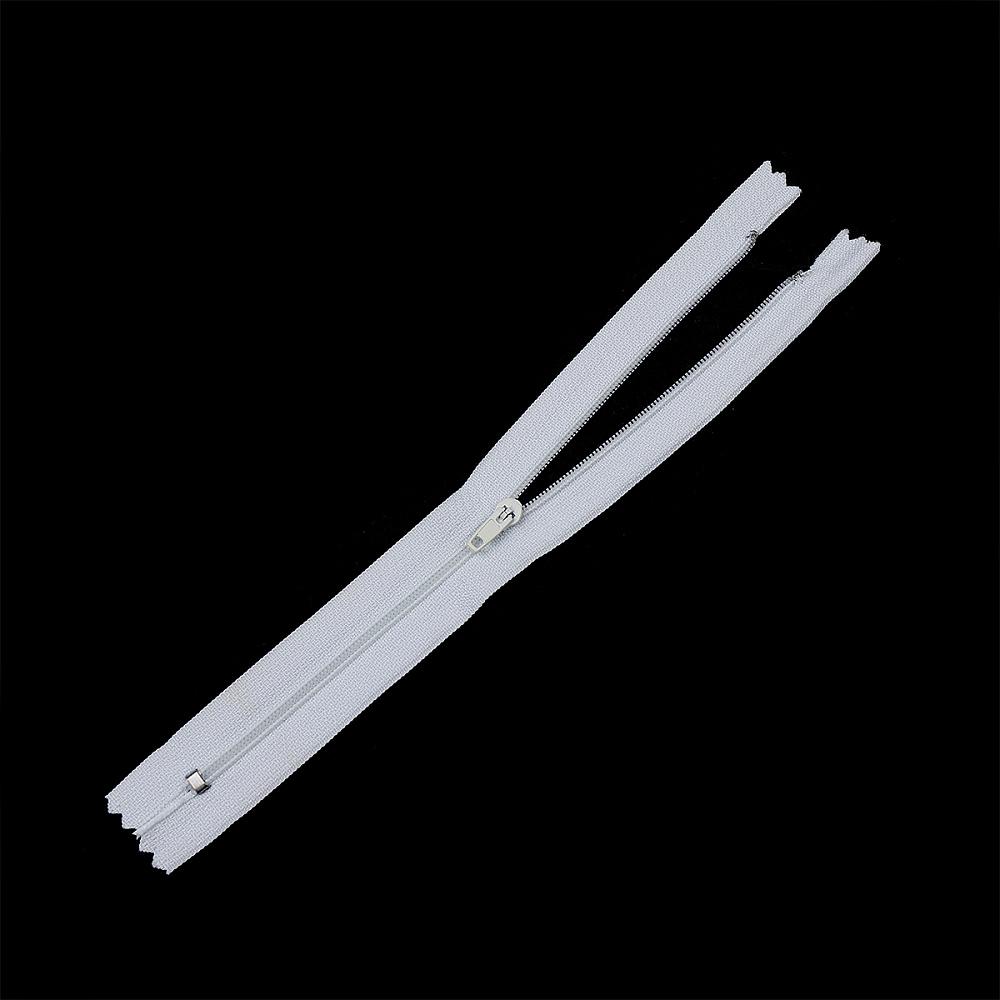 Молния MaxZipper пласт. юбочная №3, 35см, цв.F101 белый, ЮБ335101БЕЛ