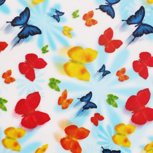 81004 Транспарентная бумага 'Бабочки', 115 г/м?, 50,5*70 см, упак./10 листов, Folia