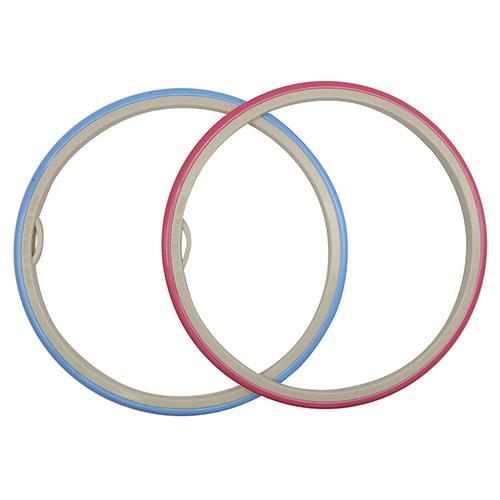 170-8 Пяльцы пластиковые с гибким внешним обручем, диаметр 200 мм, Nurge Hobby