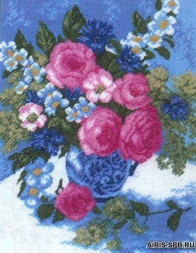 614 Набор для вышивания Hobby&Pro 'Нежность', 27*35 см