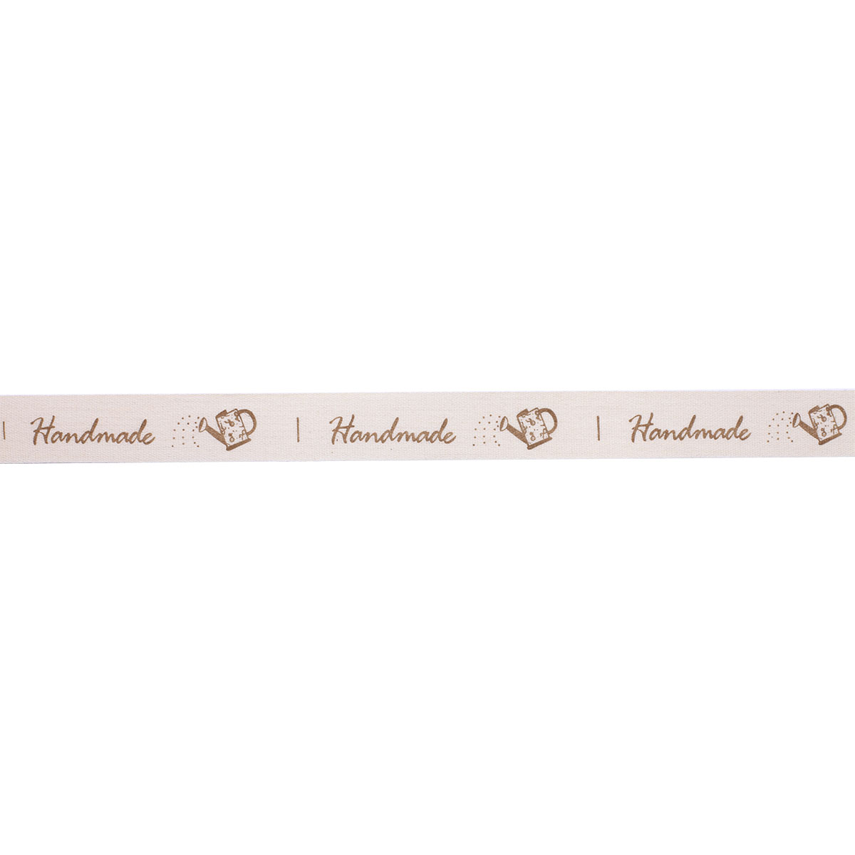 3AR117-3 Лента декоративная 'HandMade' 100% хб 15мм*25 м