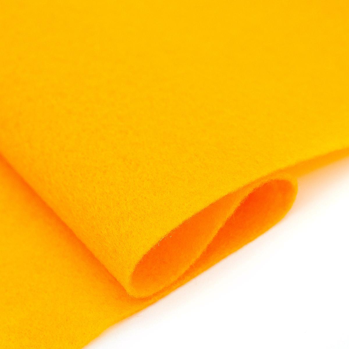 61212652 Фетр для творчества, желтое золото, 2мм, 20x30см, уп./ 1шт. Glorex