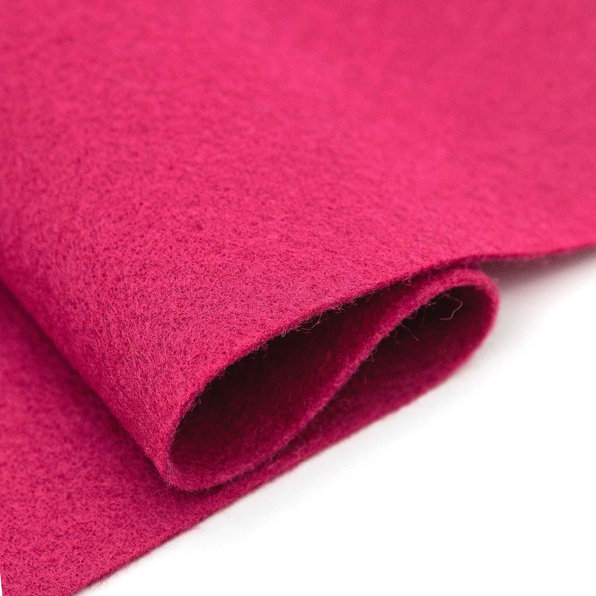 61212651 Фетр для творчества, розовый, 2мм, 20x30см, уп./1шт. Glorex