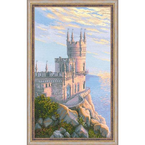1645 Набор для вышивания Риолис 'Ласточкино гнездо' 35*60см