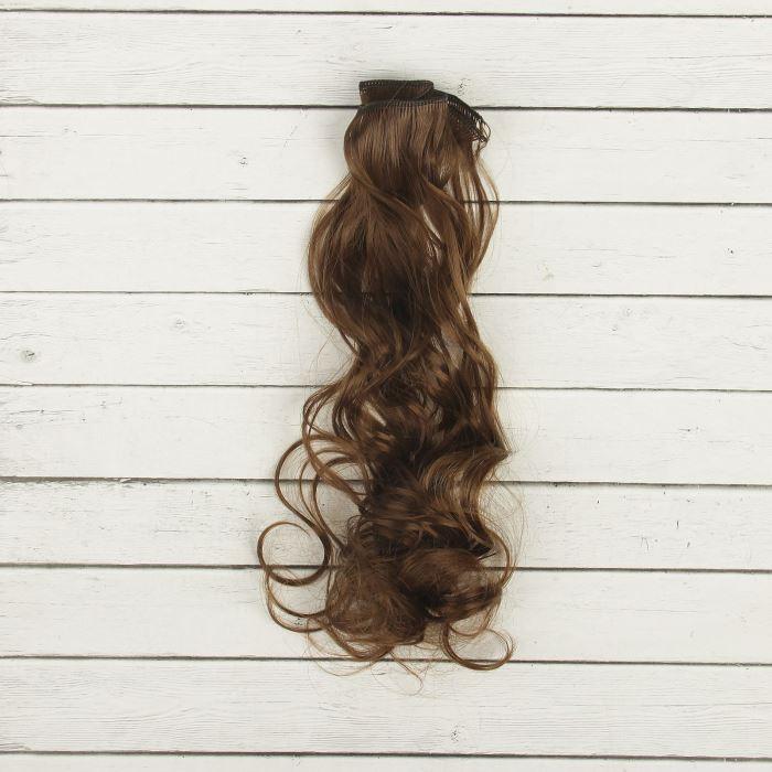 2294361 Волосы - тресс для кукол 'Кудри' длина волос 40 см, ширина 50 см, №8В