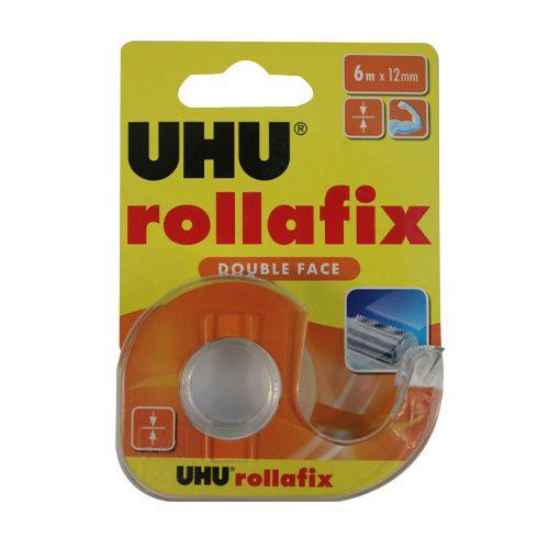 036975 Двухсторонняя клеящая лента Rollafix, 12 мм*6 м, UHU