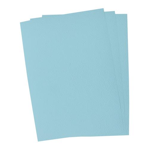 БР001 Бумага с рельефным рисунком 'Завитки', упак./3 листа