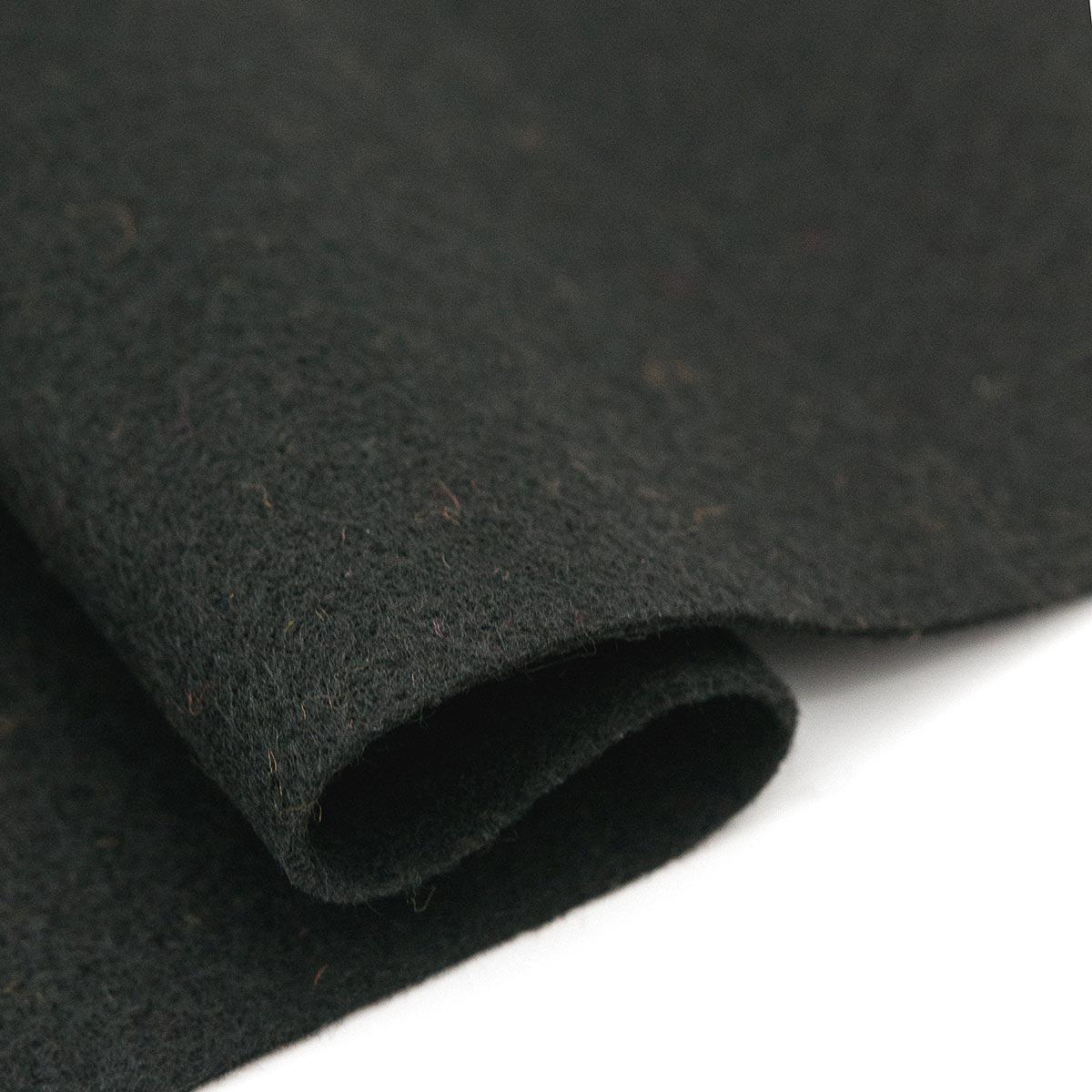 61212680 Фетр для творчества, черный, 2мм, 20x30см, уп./1шт. Glorex