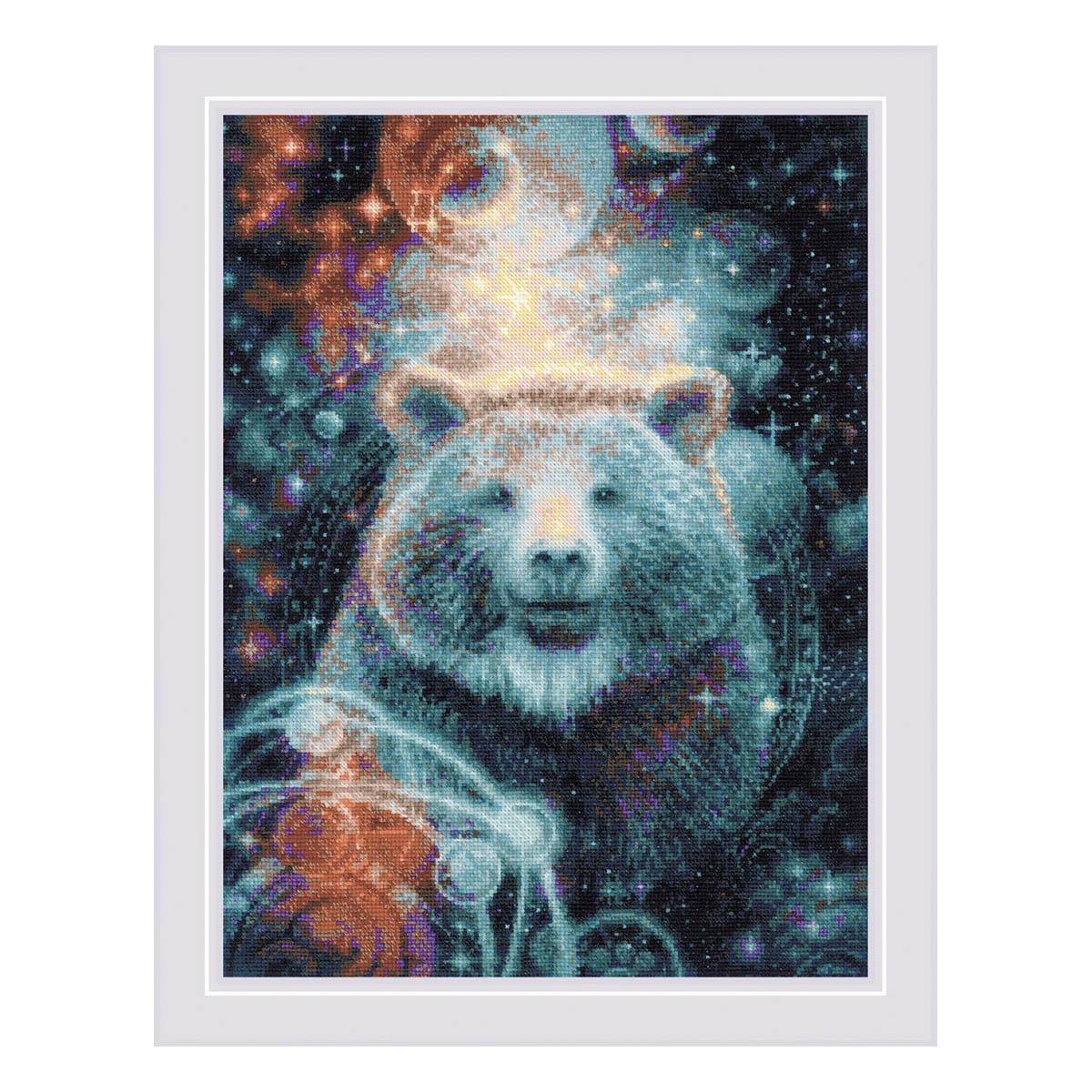 1921 Набор для вышивания Риолис 'Большая медведица' 30*40см
