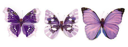 67101001 Бабочки, ассорти, упак./1 шт., Glorex