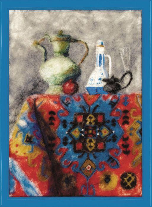 В-074 Набор для валяния картины 'Восток' 17,5*24,5см Чарівна мить