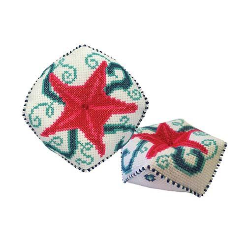 М-031 Набор для изготовления игольницы 'Морская звезда', 9,5*9,5 см