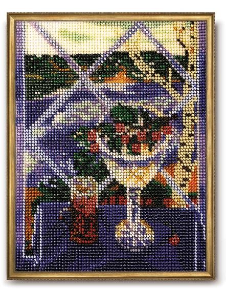 В-070 Набор для вышивания бисером Кроше 'Ностальгия', 20x15см