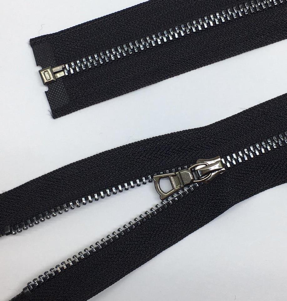 Молния металл №3ТТ черный никель разъем 50см D580 черный, 2135001330769