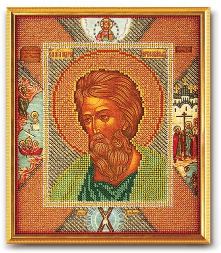 В-185 Набор для вышивания бисером Кроше 'Св. Андрей Первозванный', 23x19см