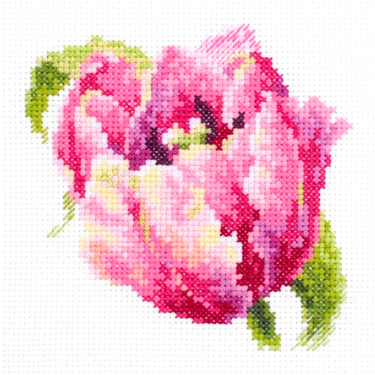 150-013 Набор для вышивания Чудесная игла 'Розовый тюльпан'