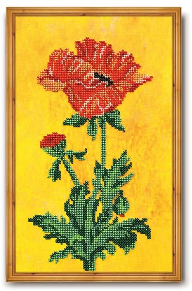 В-220 Набор для вышивания бисером Кроше 'Фаворит', 33x22см