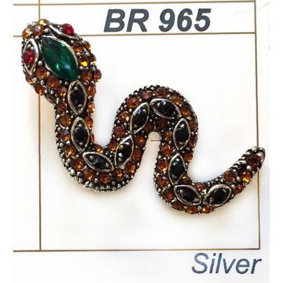 BR 965 Брошь 2см*4,2см