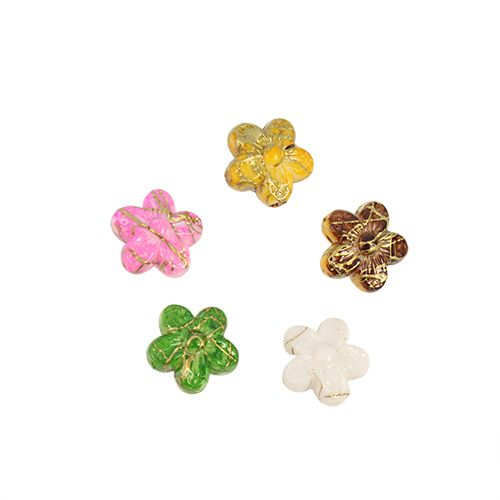 2615 Бусины пластиковые, разноцветные, 10 мм, упак./88 шт., 'Астра'