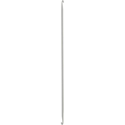 43311 Крючок вязальный тунисский двусторонний 5,00 мм/ 30 см, алюминий PONY