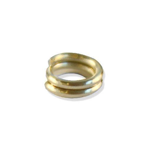 OTH1524 Кольцо соединительное, двойное, 0,7*5мм, 30шт/уп
