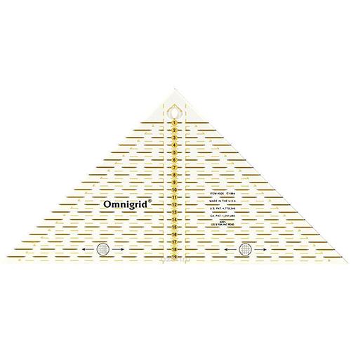 Проворный треугольник с сантиметровой шкалой Prym 611313