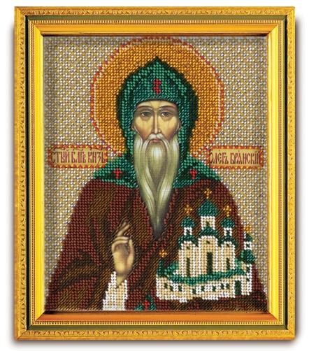 В-322 Набор для вышивания бисером Кроше 'Св. Великий Князь Олег', 14,5x12см
