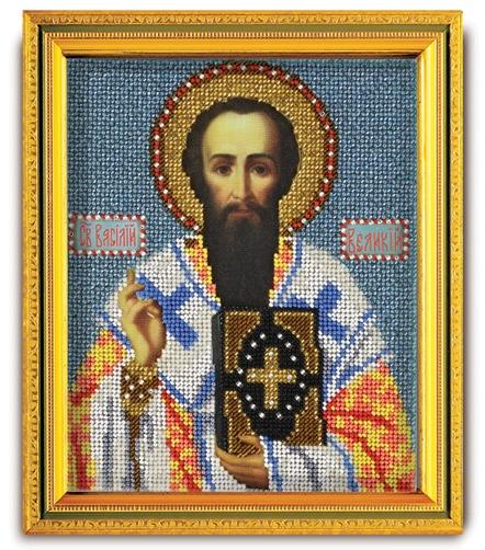 В-325 Набор для вышивания бисером Кроше 'Св. Василий Великий', 14,5x12см