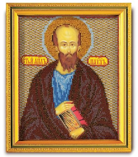 В-333 Набор для вышивания бисером Кроше 'Св. Апостол Павел', 14,5x12см